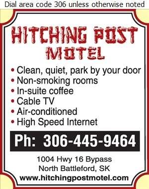 Hitching Post Motel - Motels Digital Ad