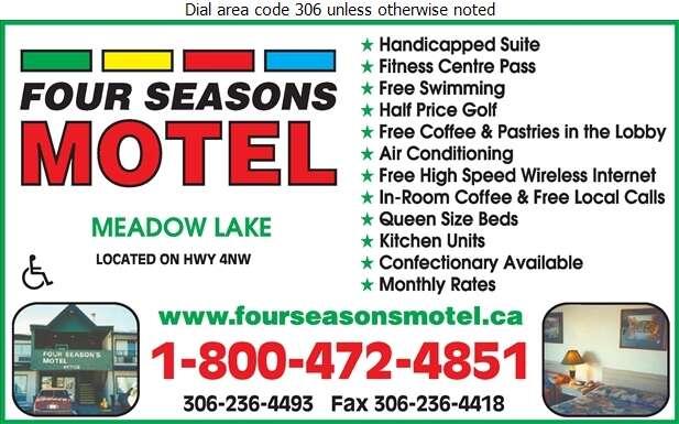 Four Seasons Motel - Motels Digital Ad