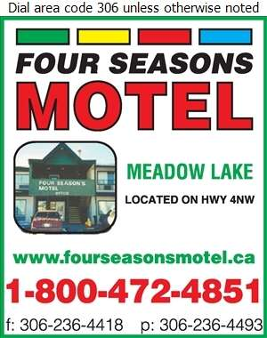 Four Seasons Motel - Hotels & Motels Reservations Out of Town Digital Ad