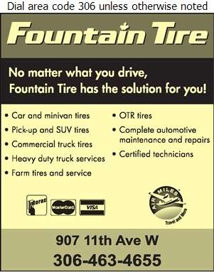 Fountain Tire (24 Hour Service Dial) - Tire Dealers Retail Digital Ad