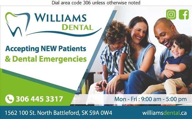 Williams Dental Clinic - Dentists Digital Ad