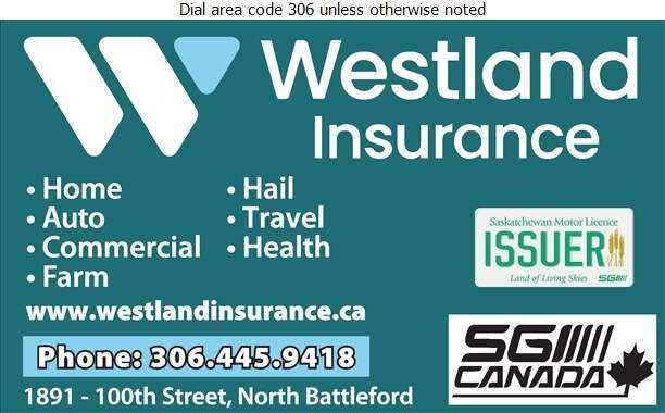 North Battleford Agencies An Innovation Partner (Battleford Branch) - Insurance Digital Ad