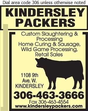 Kindersley Packers - Meat Markets Digital Ad