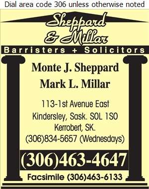 Sheppard & Millar - Lawyers Digital Ad