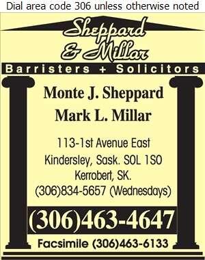 Sheppard & Millar - Lawyers Digital Ad