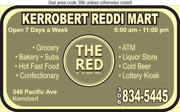 Kerrobert Reddi Mart - Grocers Retail Digital Ad