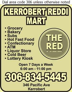 Kerrobert Reddi Mart - Bakers Digital Ad