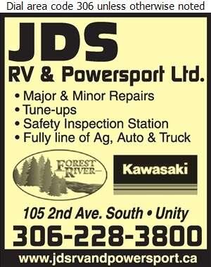 JDS RV & Power Sport Ltd - Trailers Repairing & Service Digital Ad