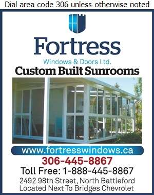 Fortress Windows & Doors (After Hours Res) - Sun Rooms & Solariums Digital Ad