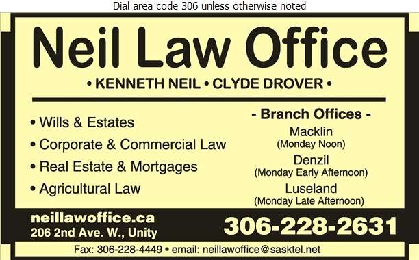 Neil Law Office - Lawyers Digital Ad