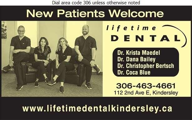 Lifetime Dental - Dentists Digital Ad