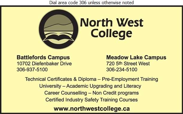 North West College (Meadow Lake Campus) - Schools & Colleges Digital Ad