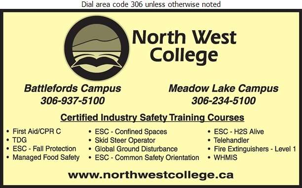 North West College - Safety Consultants & Training Digital Ad