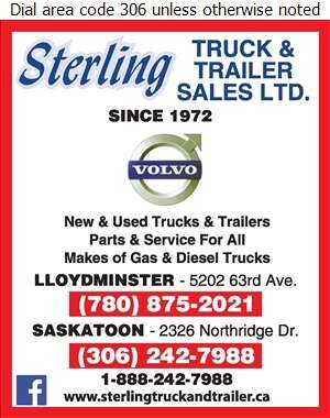 Sterling Truck & Trailer Sales Ltd - Truck Dealers Digital Ad