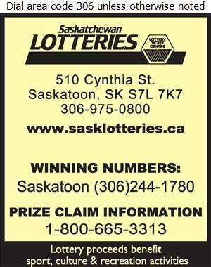 Saskatchewan Lotteries - Lottery Tickets Digital Ad