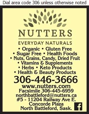 Nutter's Bulk & Natural Foods - Health Food Products Digital Ad
