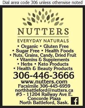 Nutter's Bulk & Natural Foods - Health Food Products Digital Ad
