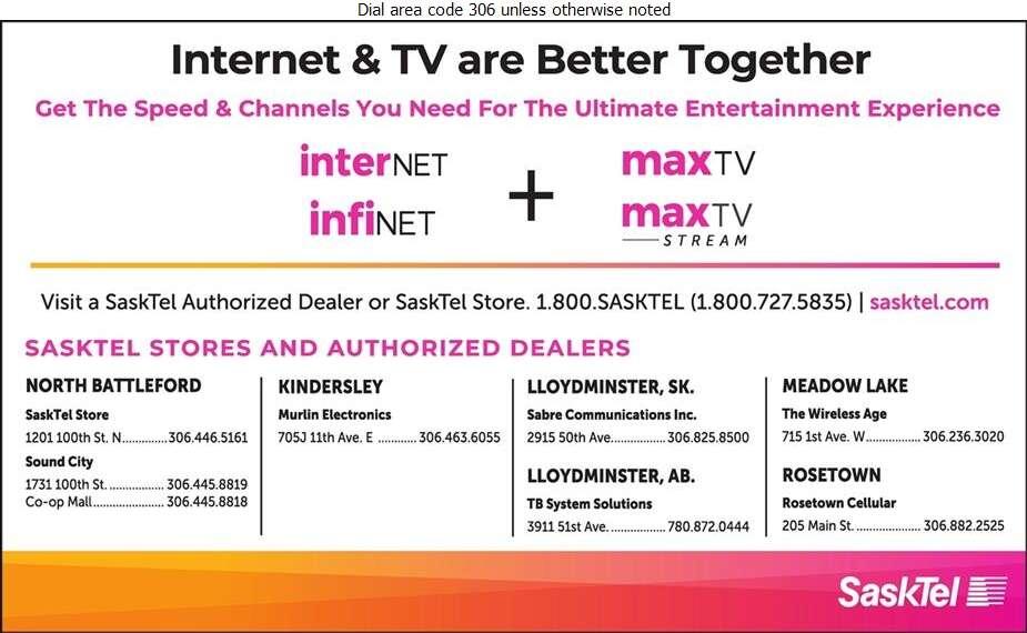 SaskTel maxTV - Cable Television Systems Digital Ad