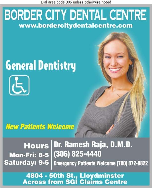 Border City Dental Centre - Dentists Digital Ad