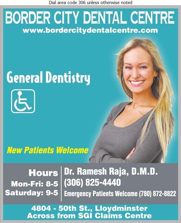 Border City Dental Centre - Dentists Digital Ad