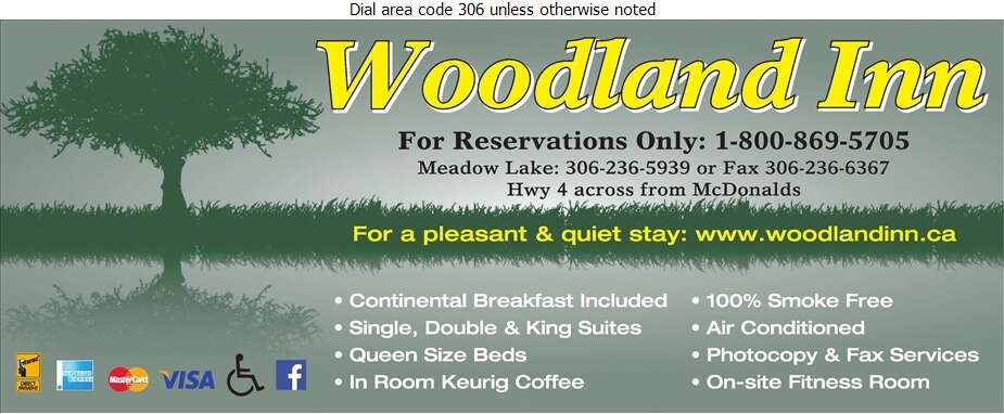 Woodland Inn - Motels Digital Ad