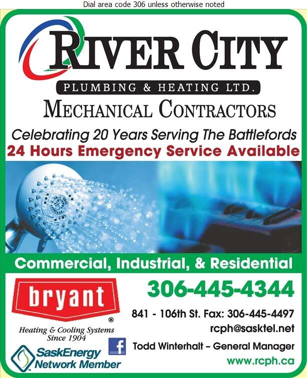 River City Plumbing Heating & Air Conditioning - Plumbing Contractors Digital Ad