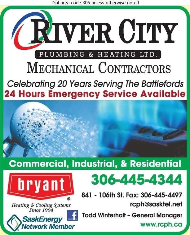 River City Plumbing Heating & Air Conditioning - Plumbing Contractors Digital Ad