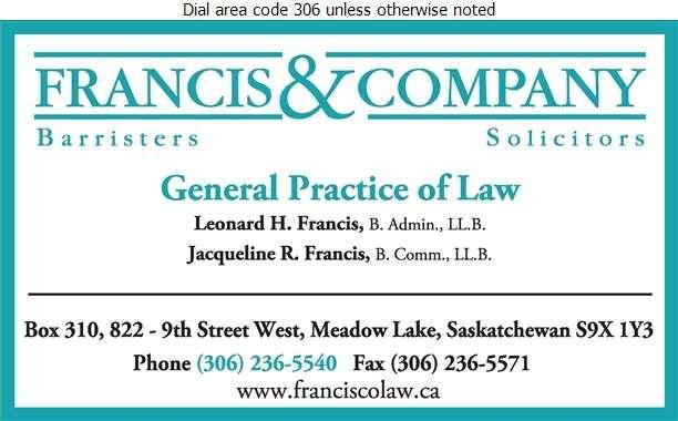 Francis & Company - Lawyers Digital Ad