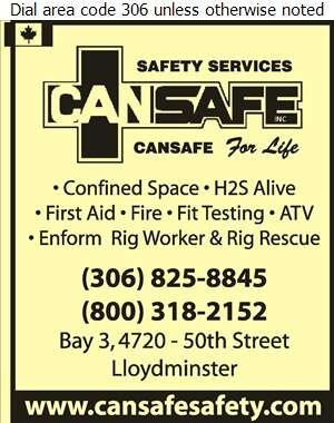 CANSAFE Inc - Safety Consultants & Training Digital Ad