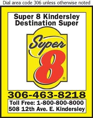 Super 8 Kindersley - Hotels Digital Ad