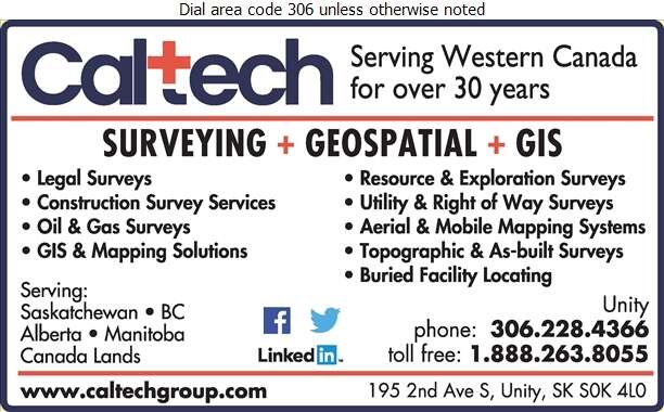 Caltech Surveys Ltd - Surveyors Land Digital Ad