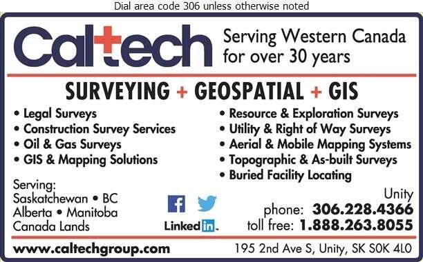 Caltech Surveys Ltd - Surveyors Land Digital Ad