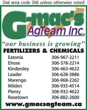 G-Mac's AgTeam Inc (Hwy 7) - Fertilizers Digital Ad