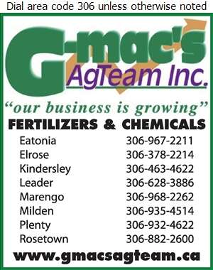 G-Mac's AgTeam Inc (Fax) - Fertilizers Digital Ad