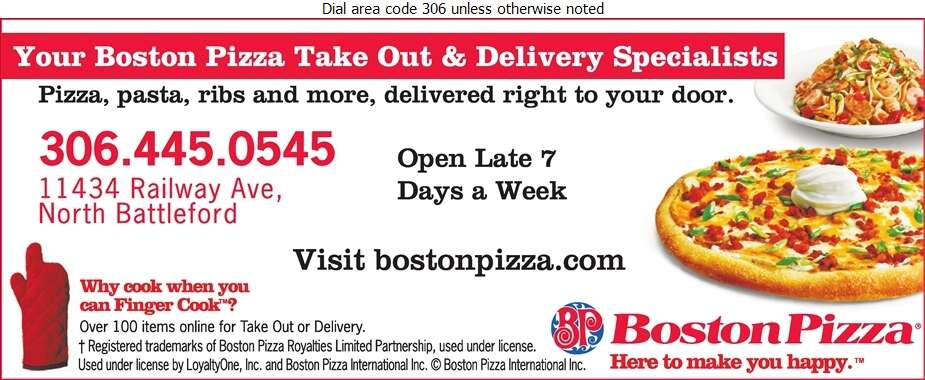 Boston Pizza - Pizza Digital Ad