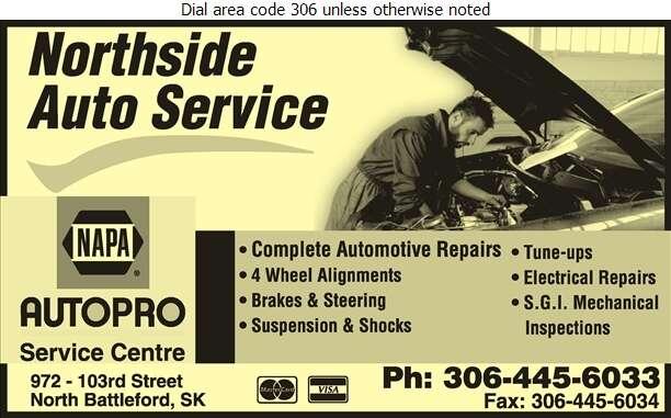 Northside Auto Service - Auto Repairing Digital Ad