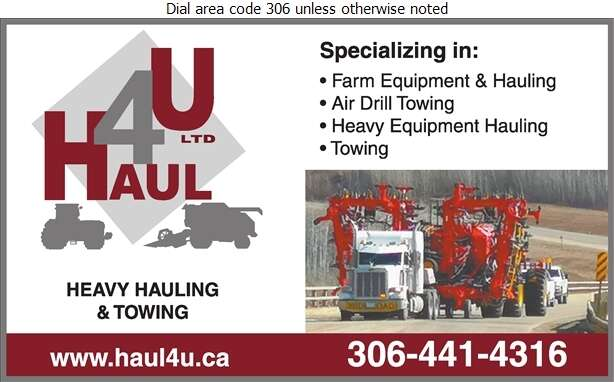 Haul 4U Ltd - Trucking Digital Ad
