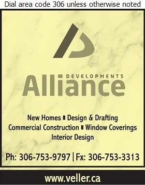 Alliance Developments Inc - Builders & Contractors Digital Ad
