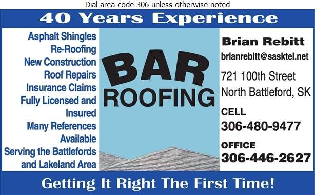 BAR Roofing - Roofing Contractors Digital Ad