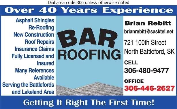 BAR Roofing - Roofing Contractors Digital Ad