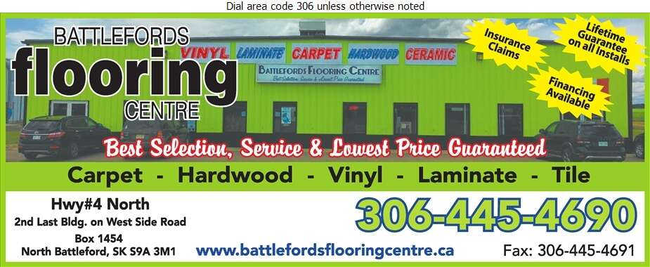 Battlefords Flooring Centre - Carpets & Rugs Retail Digital Ad