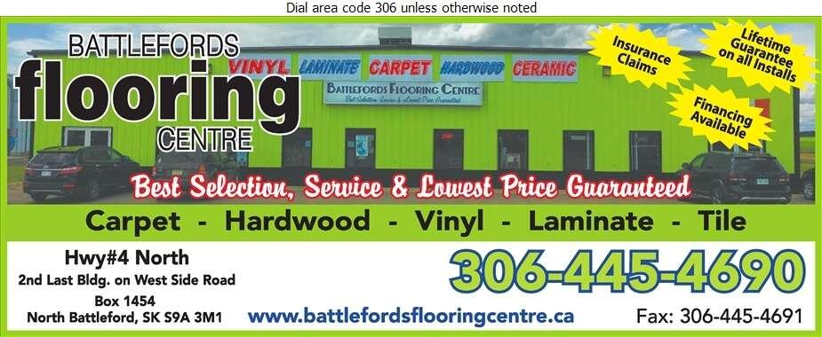Battlefords Flooring Centre - Carpets & Rugs Retail Digital Ad