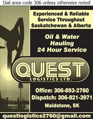 Quest Logistics Ltd - Oil & Gas Well Transportation Digital Ad