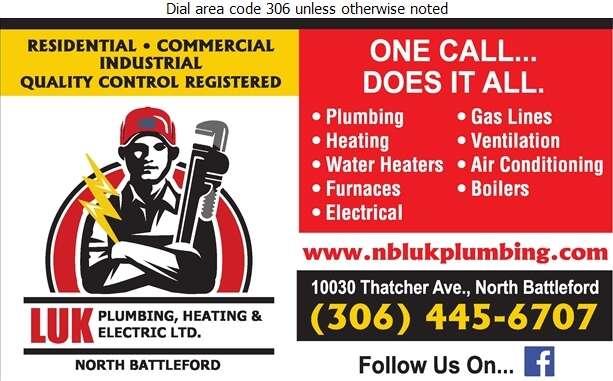 NB Luk Plumbing Heating & Electric Ltd - Plumbing Contractors Digital Ad