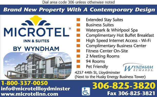 Microtel Inn & Suites Lloydminster - Hotels Digital Ad