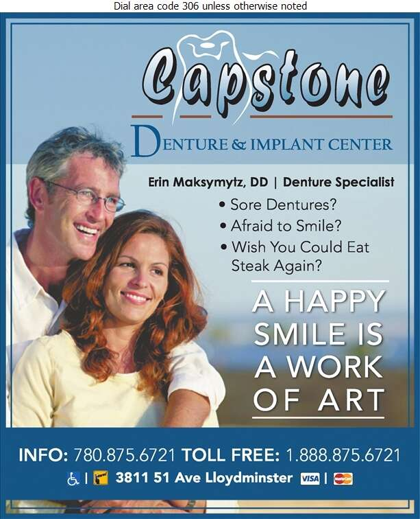 Capstone Denture & Implant Center - Denturists Digital Ad