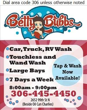 Betty Bubbles Ltd - Car Washing & Polishing Digital Ad
