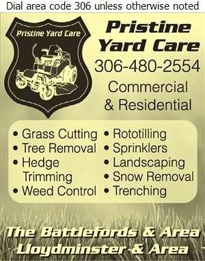 Pristine Yard Care - Landscape Contractors & Designers Digital Ad