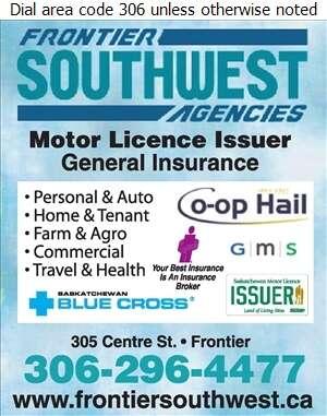 Frontier Southwest Agencies Ltd - Insurance Digital Ad