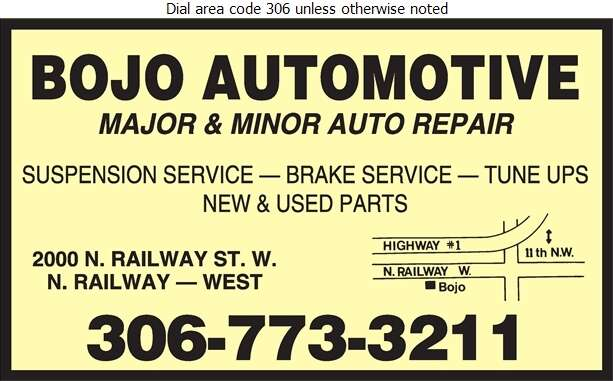 Bojo Automotive - Auto Repairing Digital Ad